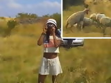 African Teen Anal Fucked By White Guy During Steppes Safari