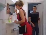 Nasty Slut Fucked in Man Toilet