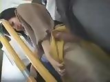 Hot Milf Gets Groped and Violated in Bus