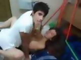 Gangbang Of Amateur Teen at College Party