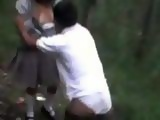 Amateur LatinoAmerican Girl Gets Fucked In the Forest By Her Friends