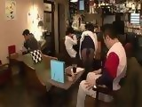 Young Waitress Ai Uehara Offers Full Service To ONe Of Her Guests
