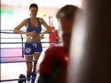 Busty Boxing Bombshell Gets Fucked By Sparring Partner At Gym