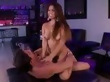 Horny Stepdaughter And Her Daddy Had Hard Fuck At The Opening Of His Discotheque
