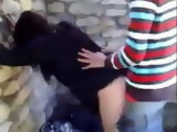 Amateur Latino American Classmates Fucks In a Shed