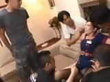 Group Of Boys Sneaked In Milf Yuna Shiina Apartment And Dishonored Her When She Came Back From Work