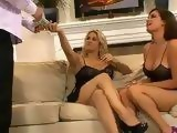 Two Cock Hungry Sluts Hires Gigolo To Fuck Them Hard
