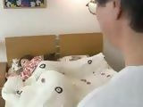 Sleeping Daughter In Law Miyuki Yokoyama Awaken And Fucked By Her Father In Law