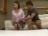 Hot Stepmom Yayoi Yanagida Gets Conviced By Her Stepson To Fuck