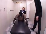 Japanese Businesses Wife Caught Masturbating In The Locker Room