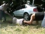 Kidnapped Girl Gets Mercilessly Fucked After a Ride In a Trunk