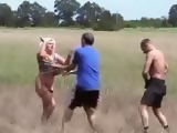 Mature Woman Fucked In The Field By Two Villagers Fuck Fantasy