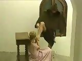 Blonde Lady Gets Anal Fucked In A Church By A Priest