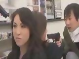 Japanese Girls Taken As Hostages And Forced To Have Sex With Robbers