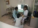 Japanese Busty Doctor Attacked By Jealous Mental Patients