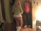 Slutty Cuckold Wife Welcomes Nicely Best Friend Of Her Husband