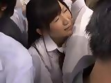 Naive Teen Cutie Gets Molested In Bus Full With Maniacs