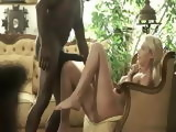 Huge African BBC Anal Fucked Bosses Spoiled Daughter In a Salon