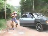 Schoolgirl Gets Kidnapped On Her Way To School And Roughly Anal Fucked Dped