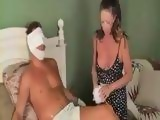 Mother Takes Real Good Care of Injured Son