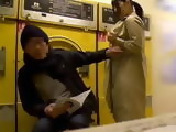 Japanese Girl Approached A Guy In A laundry Room Begging Him To Fuck Her