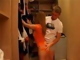 Checking Out Stepsisters Ass To Help Her Find Dress For Night Out Ends Up With Fucking
