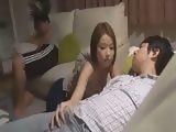 Japanese Girl Took Advantage Of Sleeping Boyfriends Brother