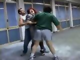 Mature Woman Gets Beaten and Anal Fucked By Two Scumbags In The Mall Garage