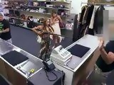 Armed Robbery Prank Turned Into Fucking
