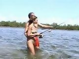 Going On Fishing With Stepdaddy Ends Up With Hardcore Fucking In The River