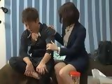 Japanese Girl Goes A Bit To Far With Comforting Her Coworker