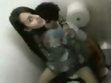 Schoolgirl Finds Out She Was Being Taped Fucking Her Classmate In A Toilet
