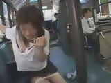 Japanese Teen Molested In Buss By Group Of Maniacs