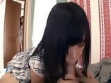 Coming Back From School Teen Japanese Caught Her Sister Giving Head To Her Boyfriend