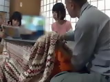 While Mom Was Reading Papers Stepdad Was Rubbing Stepdaughters Pussy